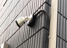 広島県戸建て住宅 防犯カメラ設置工事