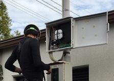 広島県地域自治会 地域防犯カメラ設置工事