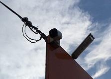 島根県企業様事務所 防犯カメラ設置工事