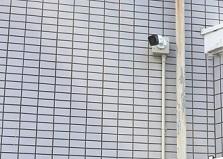 広島市内マンション物件 防犯カメラ設置工事