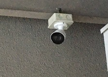 広島市企業様事務所 防犯カメラ設置工事
